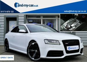 2011 RS5 4.2 V8 Quattro S-Tronic Coupw white 4WD